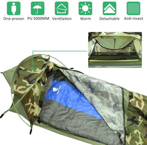 Plume Bivy l Tent One Person 3 Season Backpacking Camping Tent