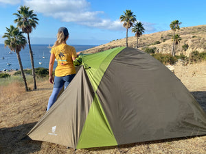 GeerTop Camping Tent Duckbill 3-4 Person