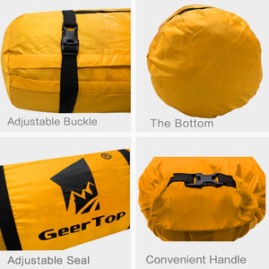 Geertop Ultralight 20D Waterproof Adjustable Tent Compression Bag Duffel Bag