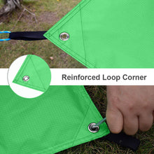 Load image into Gallery viewer, GeerTop Waterproof Lightweight Tent Floor Footprint Tarp