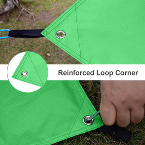 GeerTop Waterproof Lightweight Tent Floor Footprint Tarp