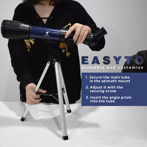 GeerTop 36050s High Magnification HD Telescope for Kids Beginner