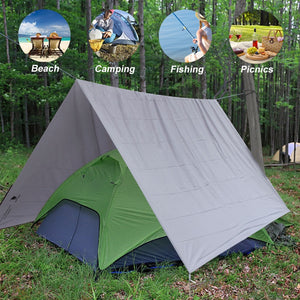 GeerTop Ultralight Camping Mat Waterproof Tent Tarp