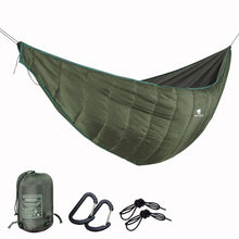 Load image into Gallery viewer, GeerTop 1 Person Outdoor Hammock Quilt Hanging Sleeping Bed