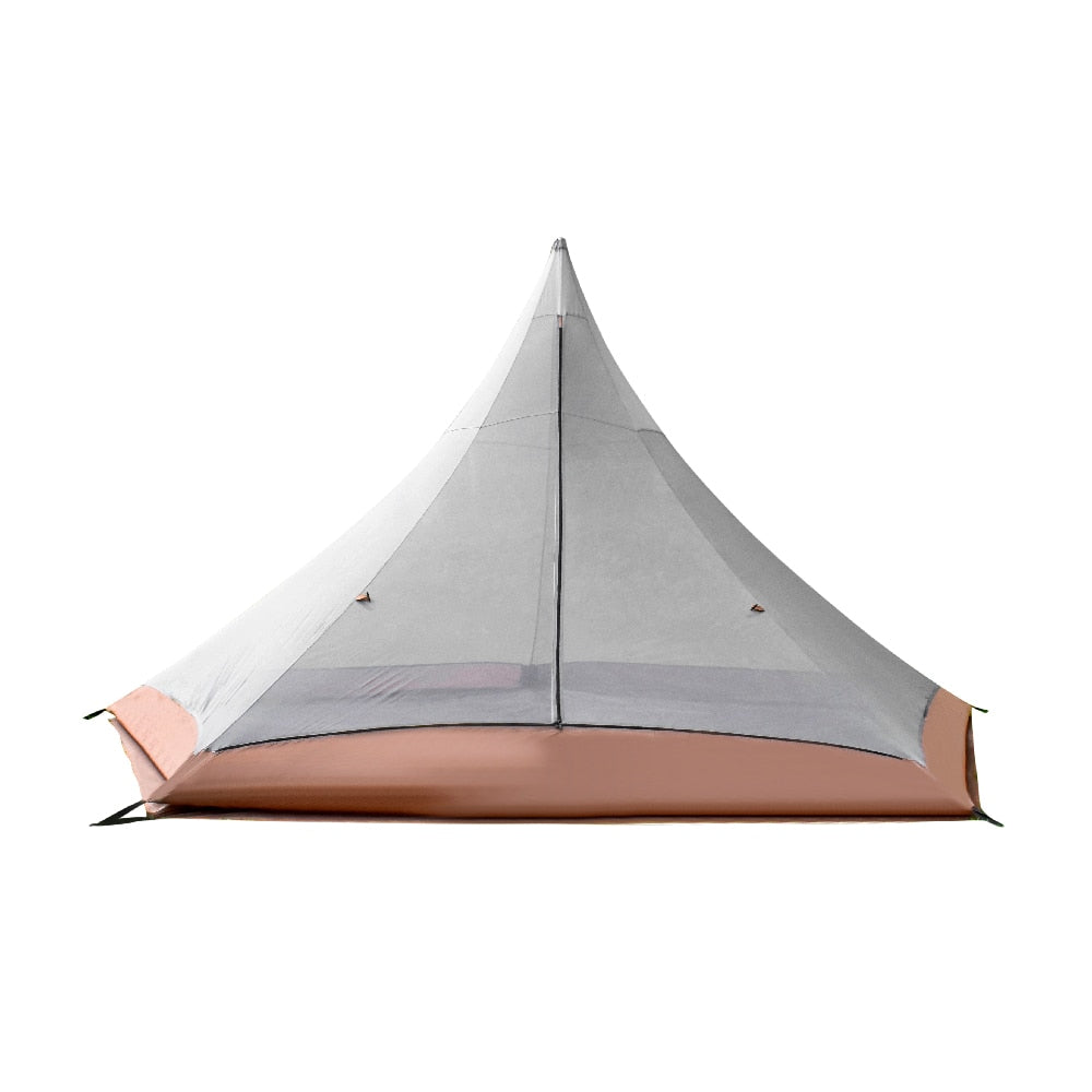 Teepee Six Person 3 Season Camping Family Tent
