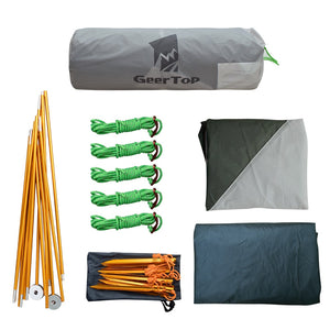 GeerTop Libra 3  1-Person 3-4 Season Camping Tent