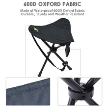 Load image into Gallery viewer, GeerTop Ultralight Folding Tripod Stool PortableCamping Chair