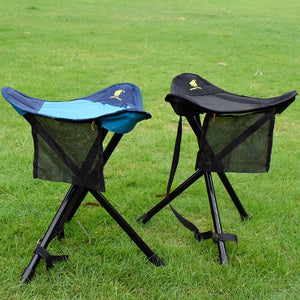 GeerTop Ultralight Folding Tripod Stool PortableCamping Chair