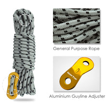 Load image into Gallery viewer, GeerTop Replacement Tent Rope 13ft 5mm