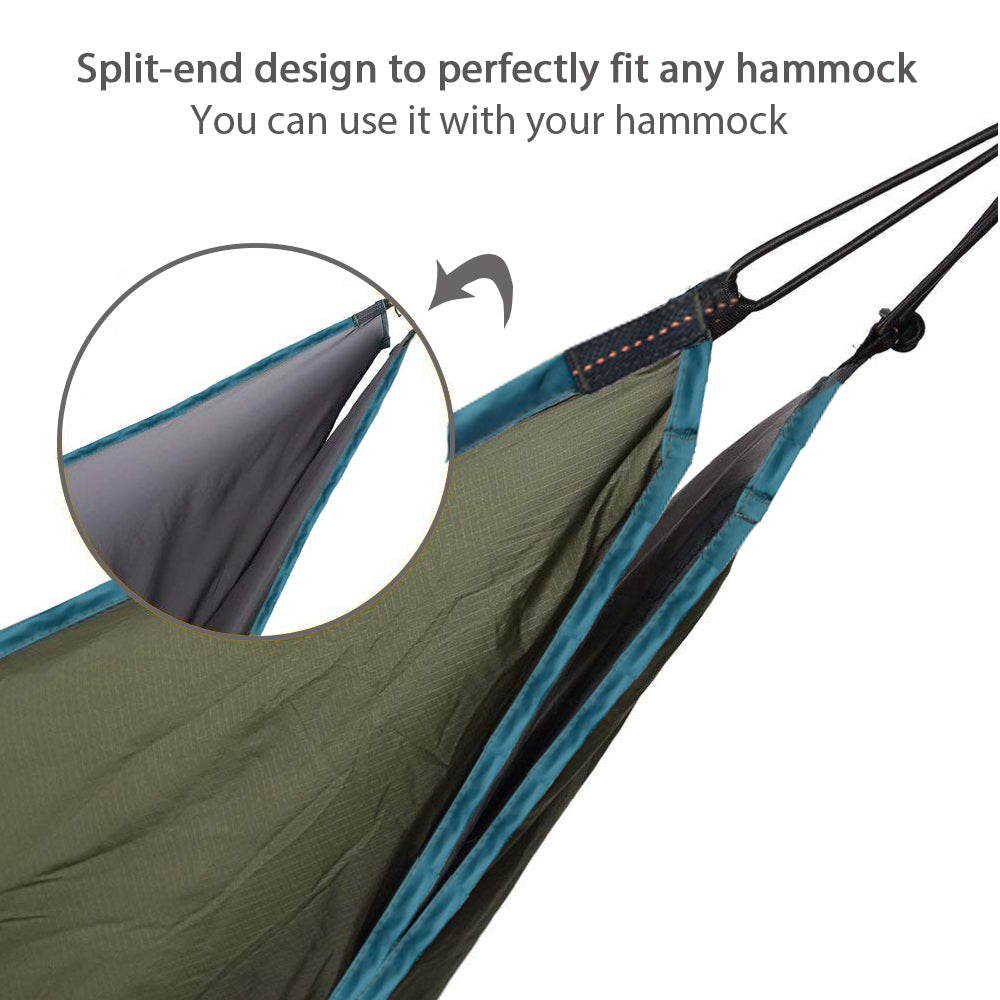 One Person Hammock Quilt Hanging Sleeping Bag