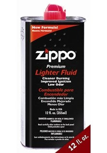 Zippo Lighter Fluid 1x12oz (SINGLE CAN) 3365C