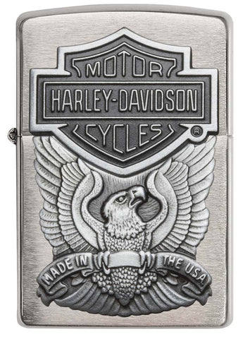 Harley-Davidson® Brushed Chrome