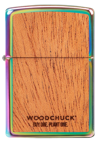 Woodchuck Leaf Design