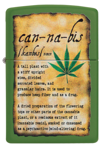 Cannabis Description Design