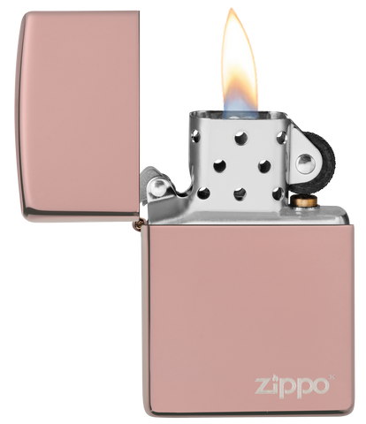 Rose Gold with Zippo logo