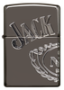 Zippo Armor® High Polish Black Ice®, Jack Daniel's®