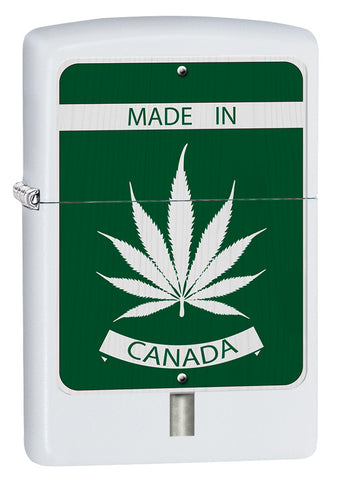 Leaf Made In Canada Design