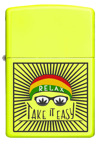 Take It Easy Leaf Design