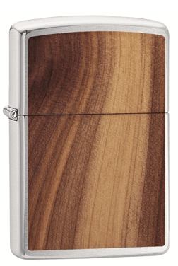Woodchuck Cedar Brushed Chrome
