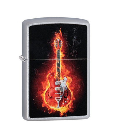 Guitar In Flames Design