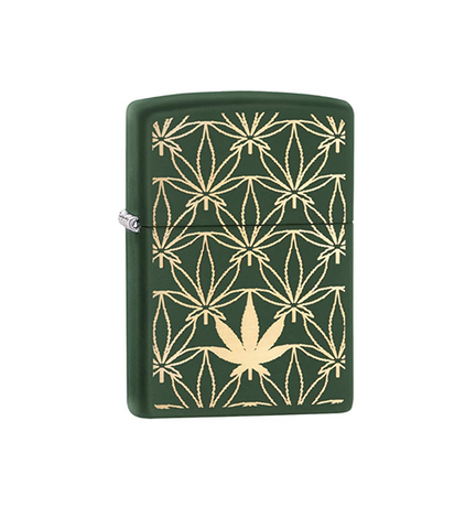 Zippo All Around Leaf Design Laser(29589)