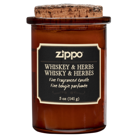 Zippo Candle - Whiskey & Herb
