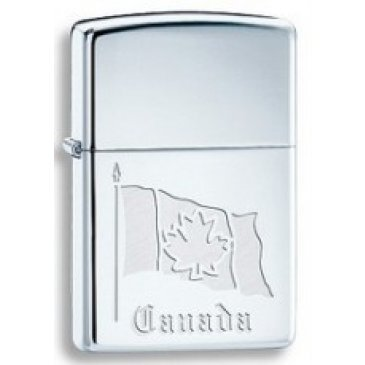 Zippo 250 Limited Edition Flag Of Canada (52684-32128)