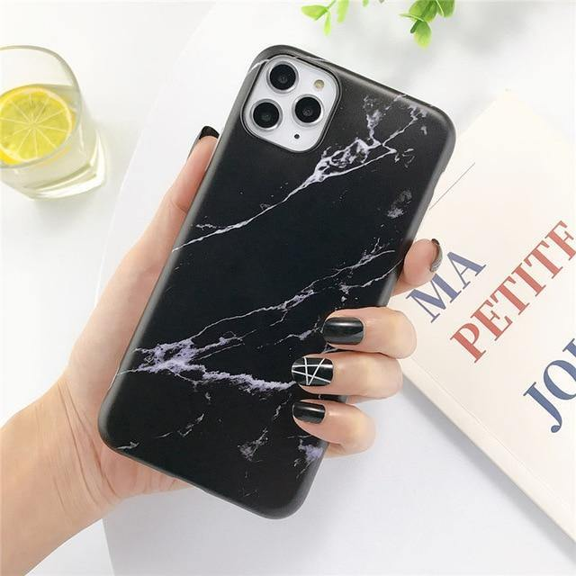 Marble Texture Pattern Phone Case For iphone - Goodiesfans