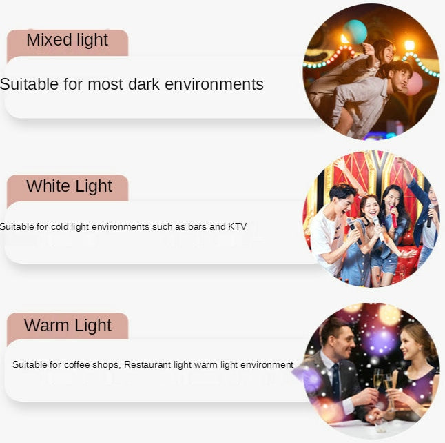 Mobile Flashes Lights Ring Flash Phone Case For iPhone