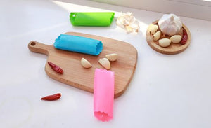 Silica Gel Garlic Peeler Random color
