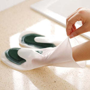 Reusable Magic Silicone Dish Washing Gloves