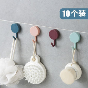 10 PCS Super Hook Light blue and dark blue