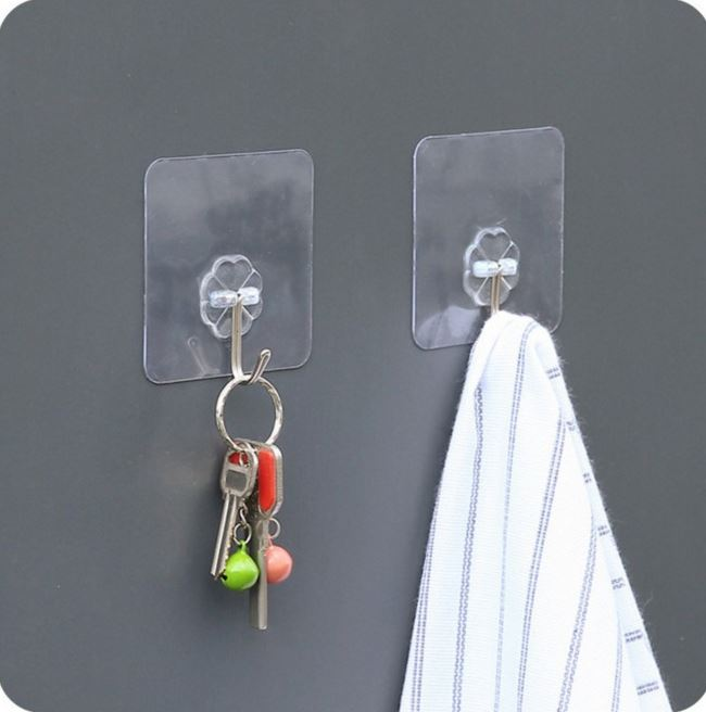 Magic Paste Hooks for hanging