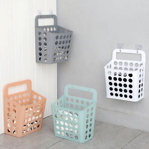 Laundry Storage Basket Orange