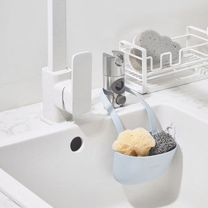 Kitchen Sponge Drain Holder White