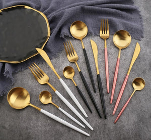 Portugal Western tableware Titanium Gold