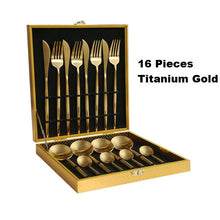 Load image into Gallery viewer, Portugal Western tableware Titanium Gold