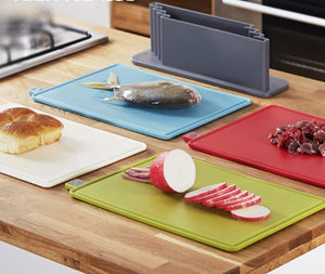 Household plastic cutting board set