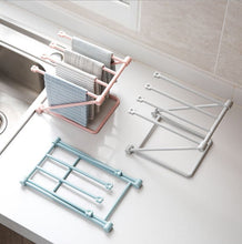 Load image into Gallery viewer, Folding Vertical Towel Rack Pink