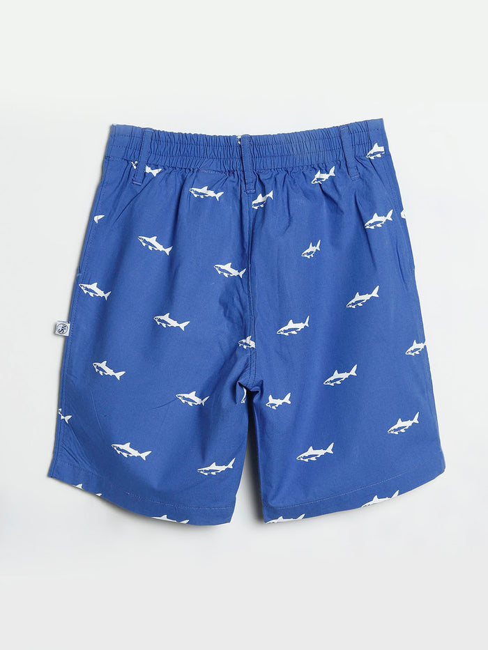 Shark Cotton Shorts