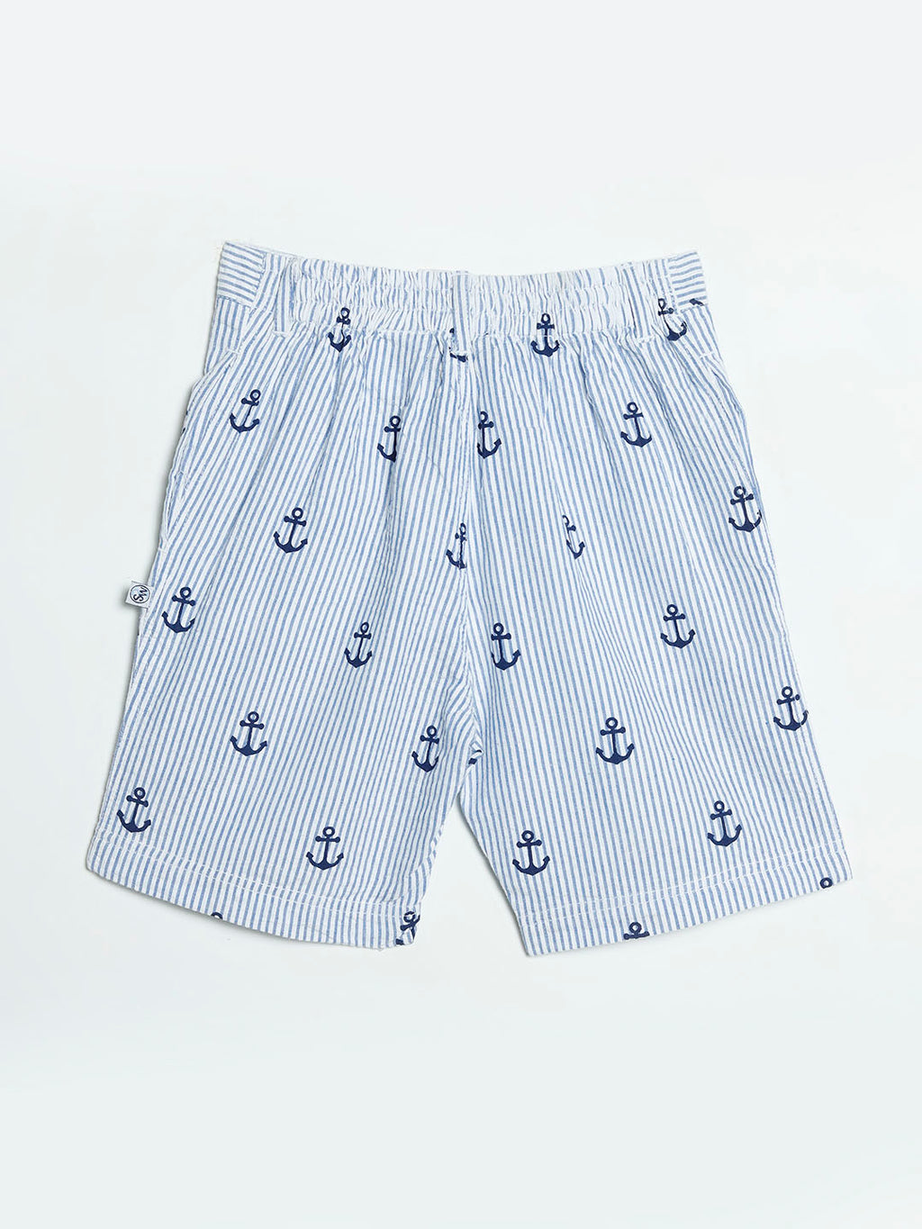 Blue Anchor Shorts