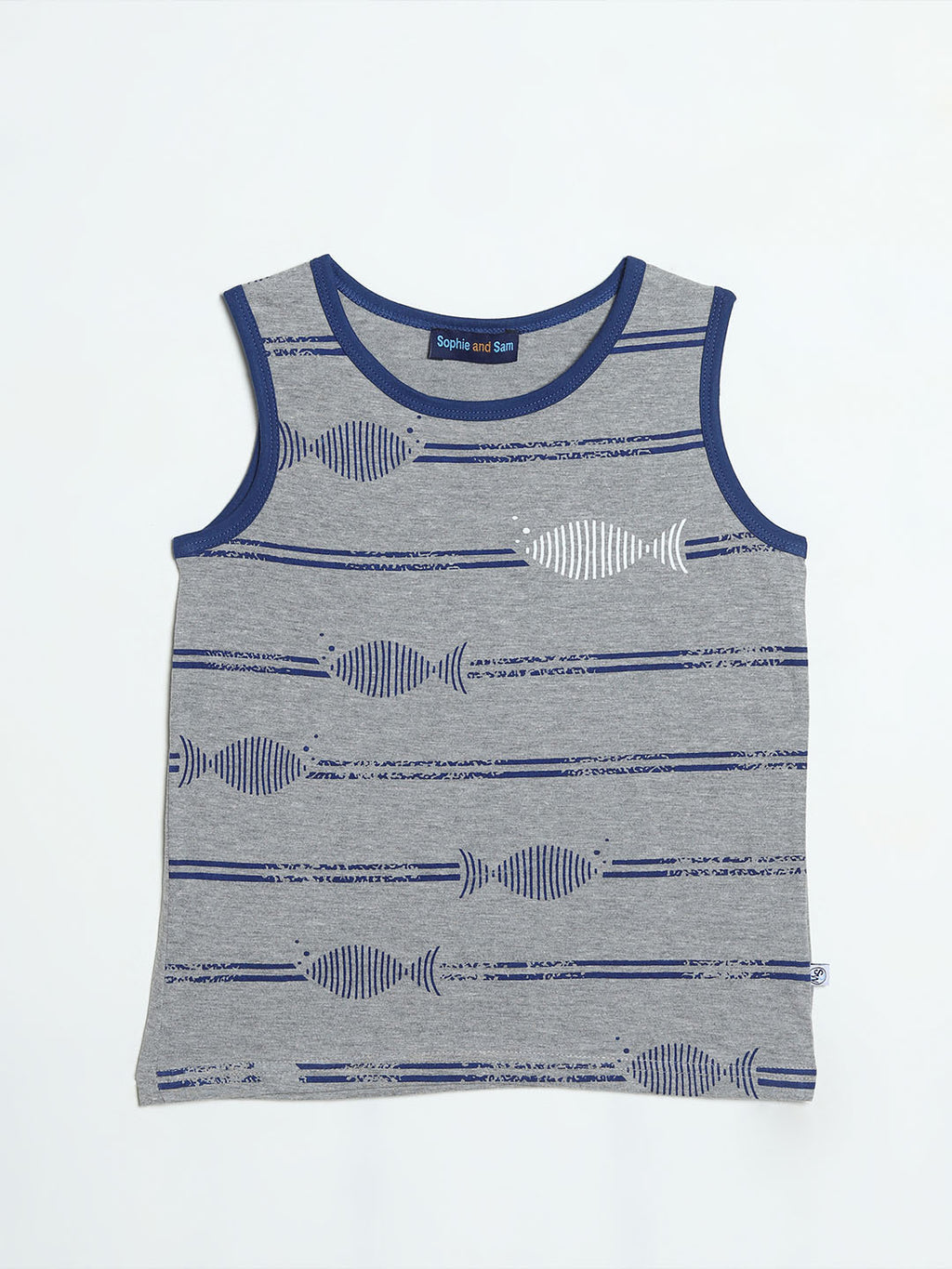 Striped Fish Tank Top