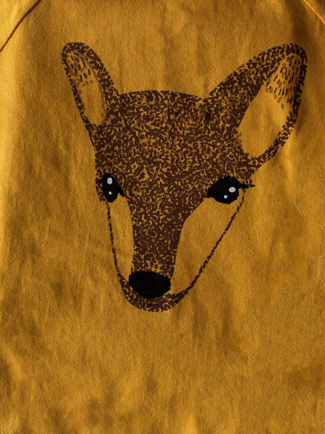 Mustard Deer Graphic T- Shirt