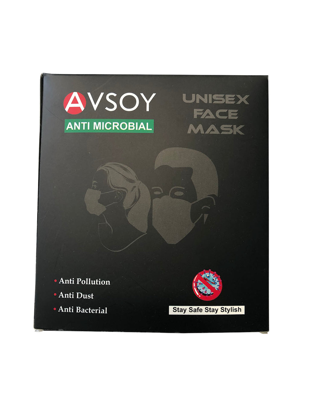 Printed Designer Face Masks (pack of 5)