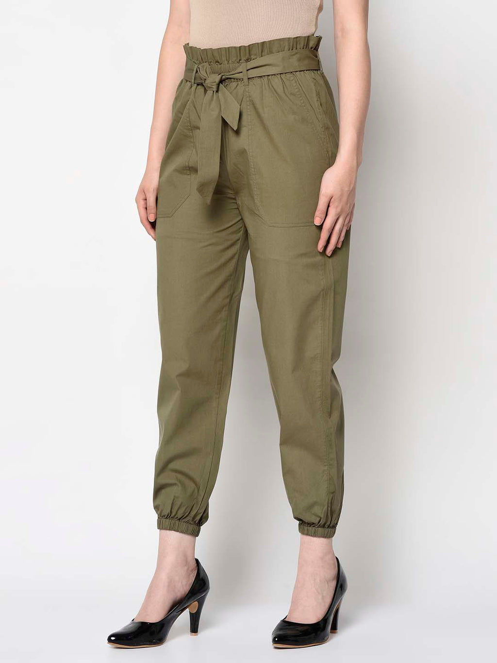 Military Green Joggers