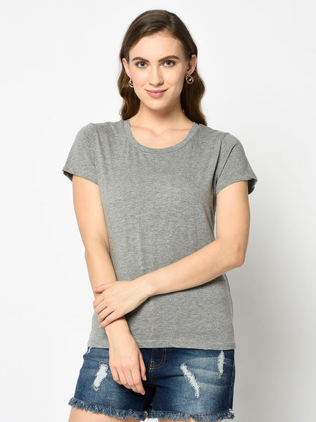 Grey Roundneck T-Shirt