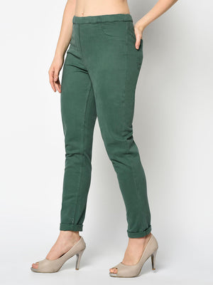 Pine Green Leggings - Avsoy