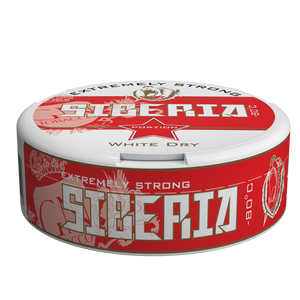 Siberia -80° White Dry Portion 13gr