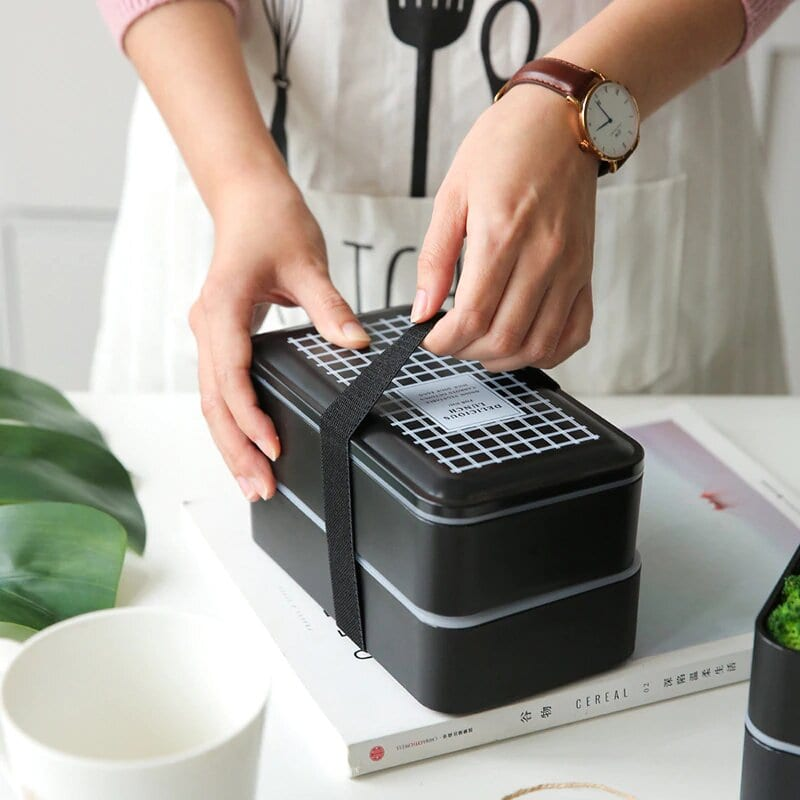 Portable Microwavable Lunch Box