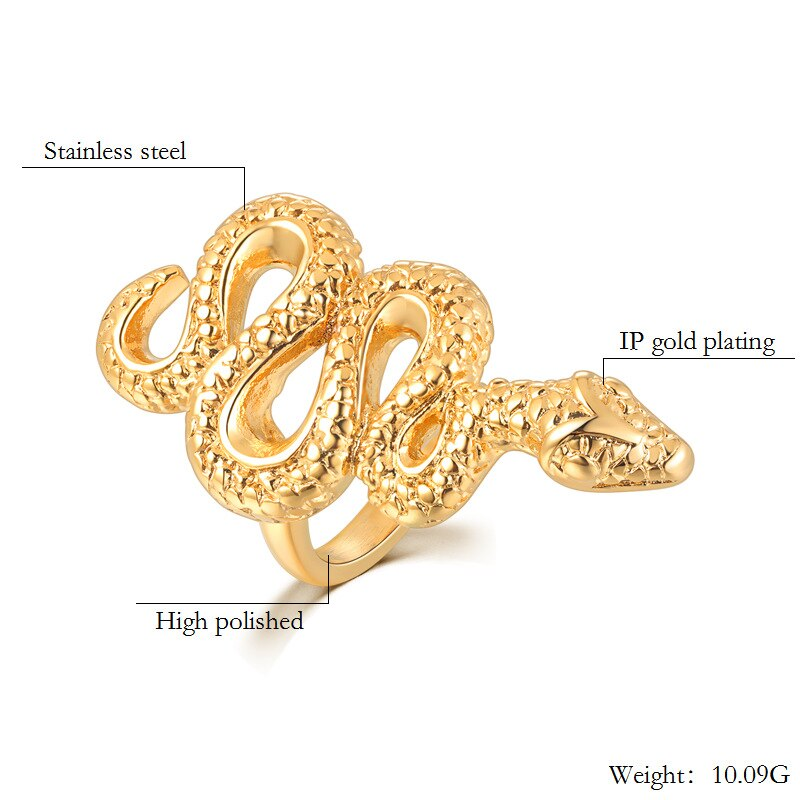 Serpent Snake RIng